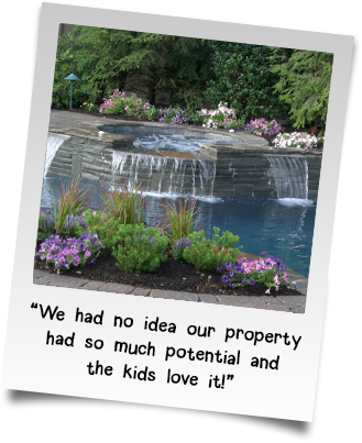 We had no idea our property had so much potential and the kids love it!