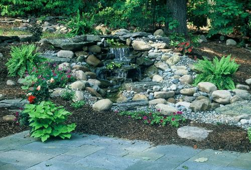 Pondless waterfalls for your bergen county backyard for Design of pondless waterfalls