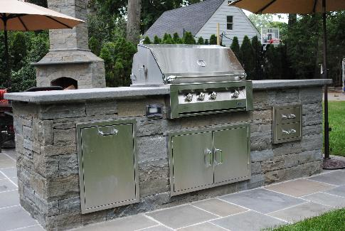 Bergen County NJ Outdoor Kitchen