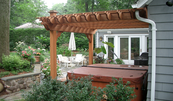 Landscaping for Hot Tub/Spa - Bergen County, NJ