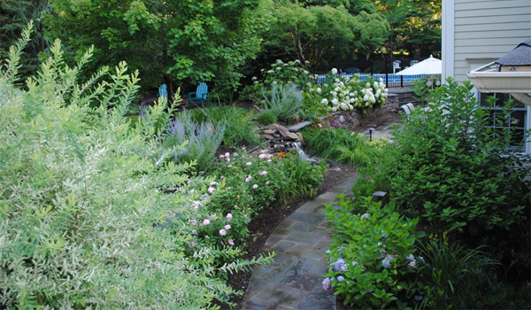 Backyard Landscaping Design in Northern New Jersey