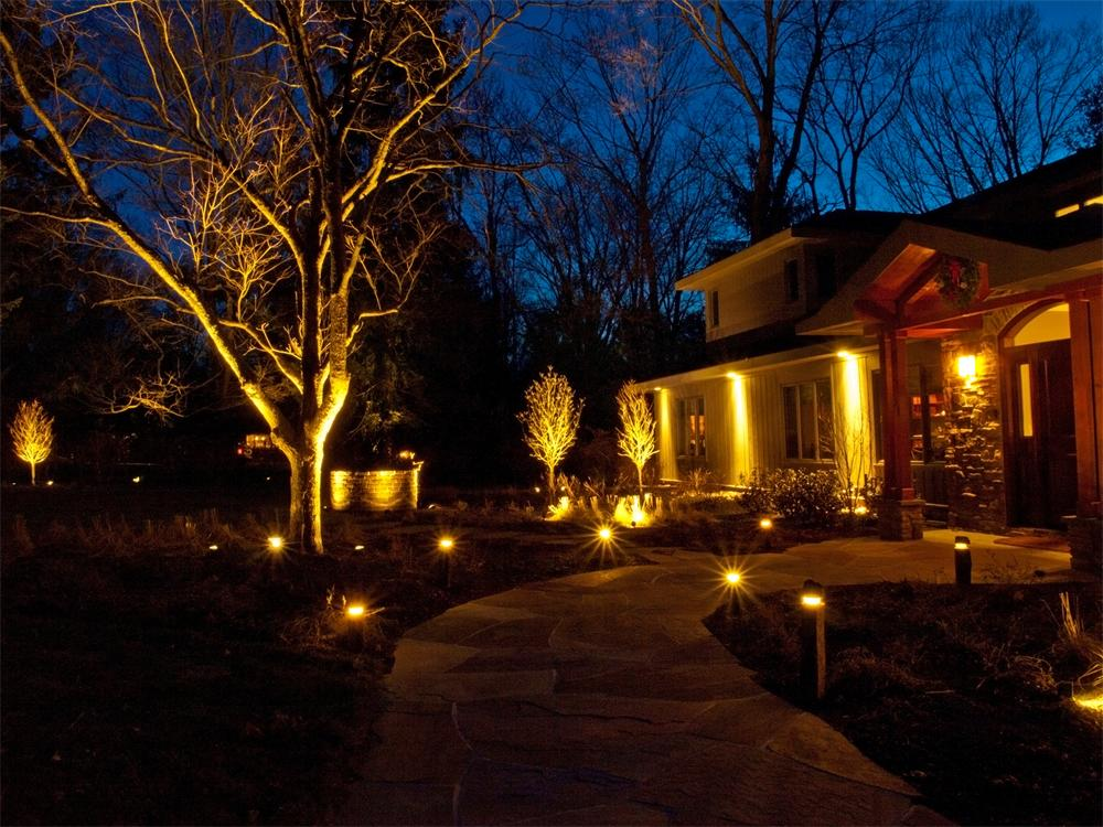 Northern NJ Landscape Lighting Company