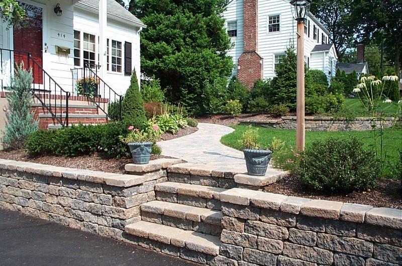 Landscape Steps Bergen County