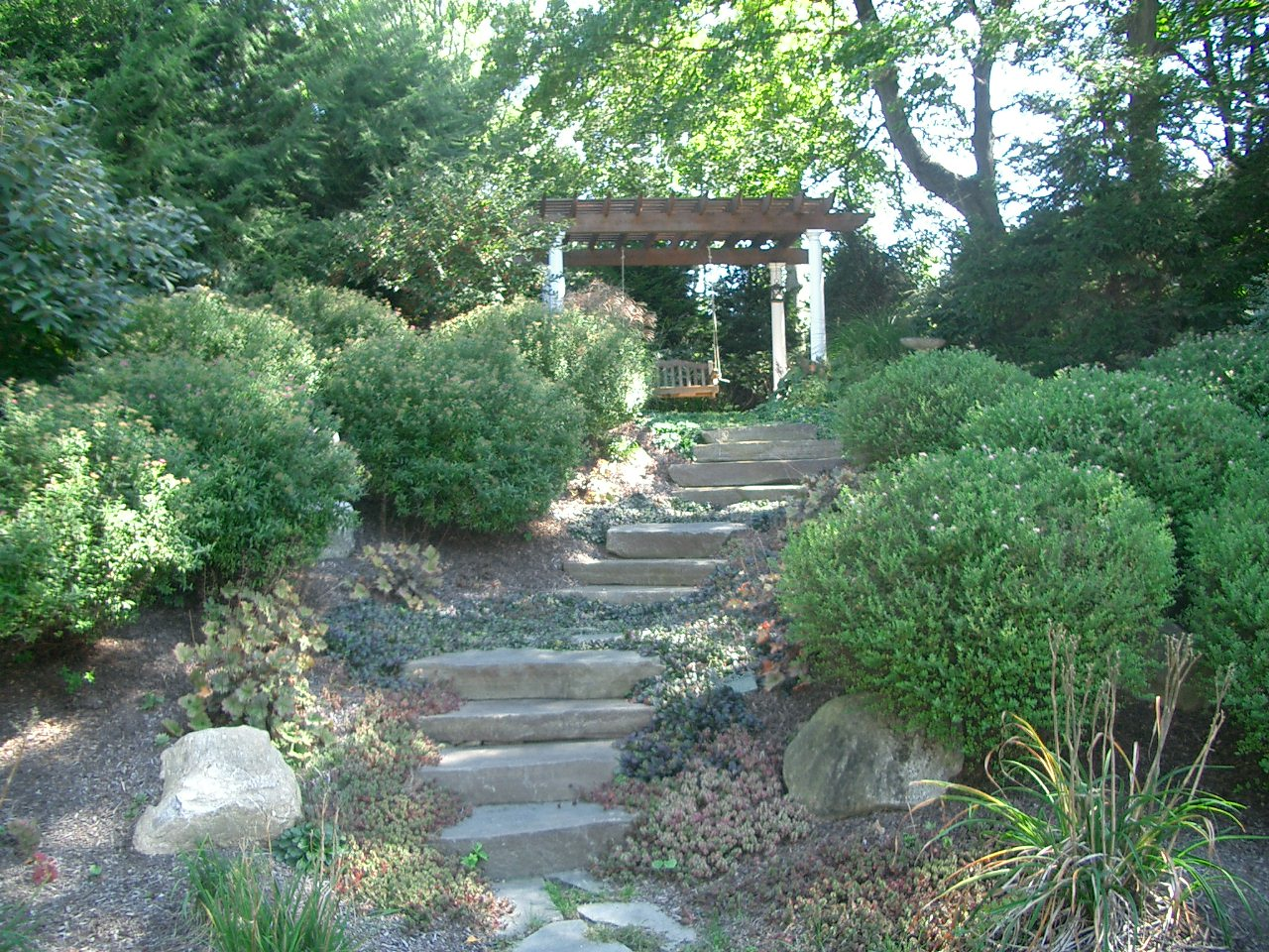 Garden Steps and Landscape Architecture