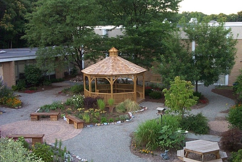 Landscape Gazebo at Commercial Site