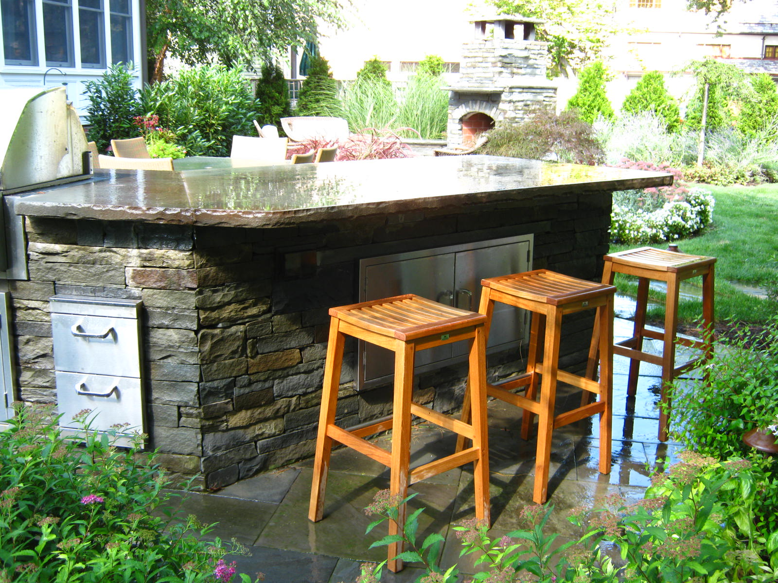 Outdoor Kitchen and Bar NJ