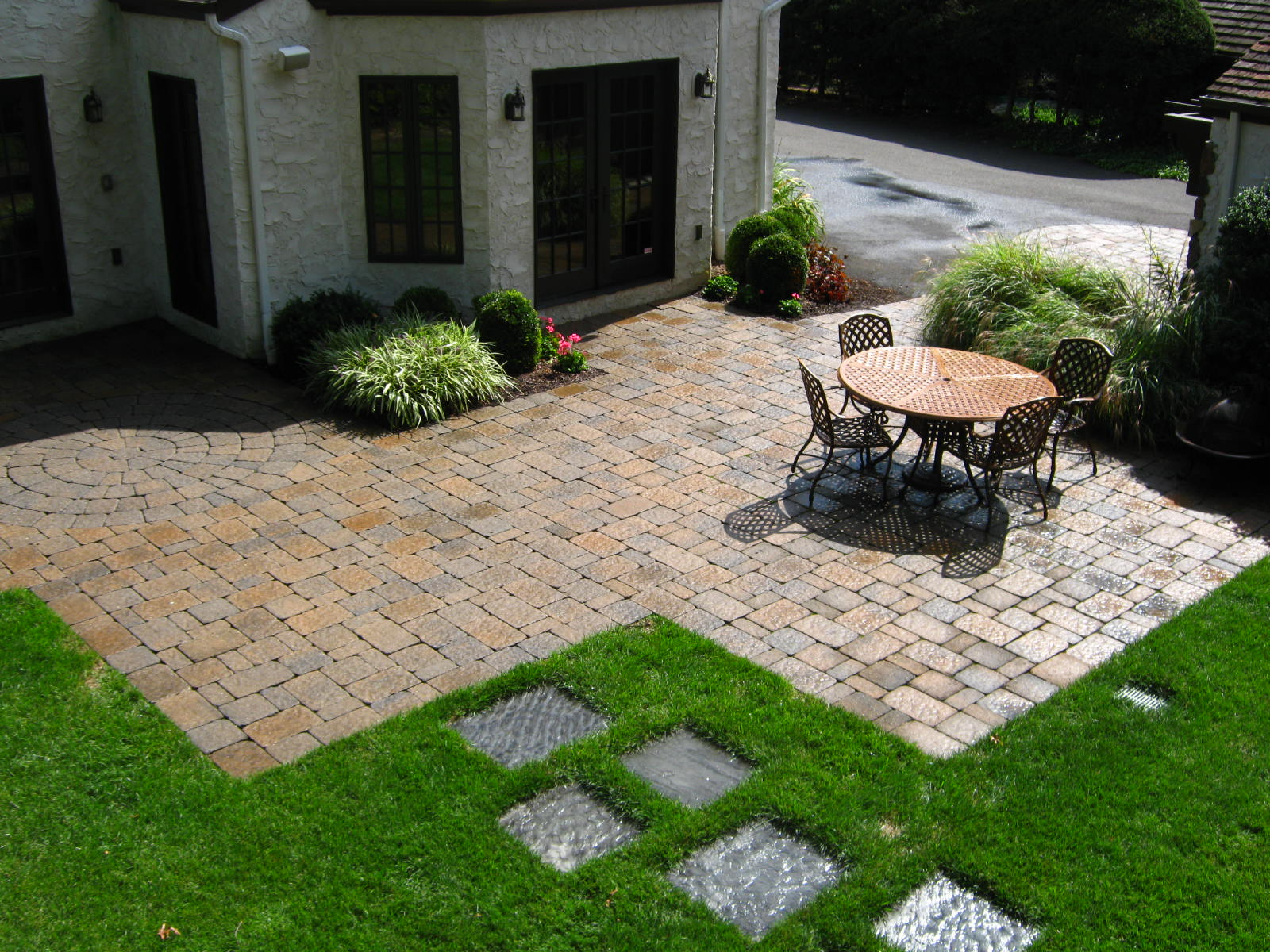 Backyard Paver Patio In NJ