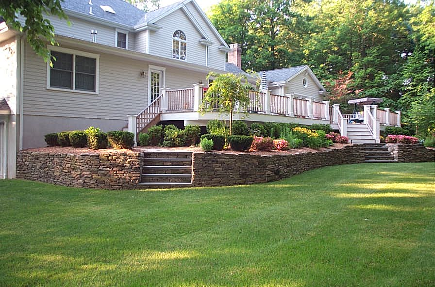Bergen County Retaining Wall
